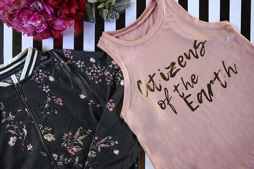 Blush Citizens of the Earth sleeveless tank