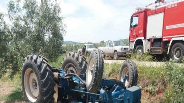 20-year old Albanian land-worker dies in a tractor accident in Greece