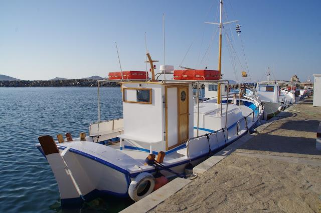 Paros Fishing Boat