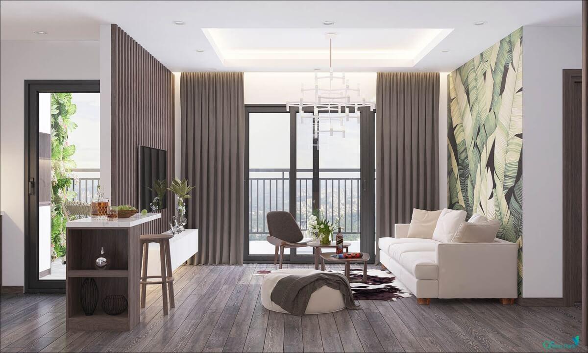 Nội thất căn hộ dự án PD Green Park Trần Thủ Độ