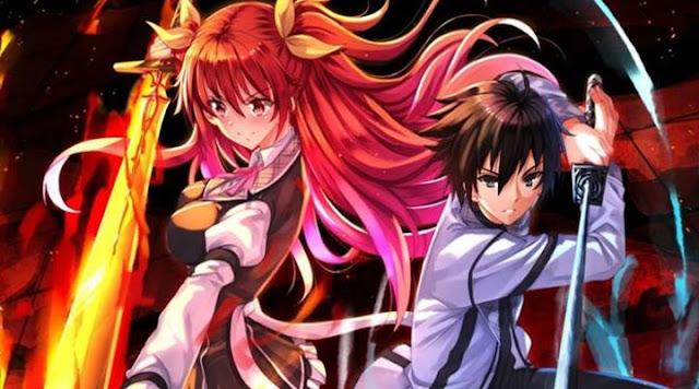Sinopsis Rakudai Kishi no Cavalry (2015), Anime Action Fantasy Berbumbu Romance