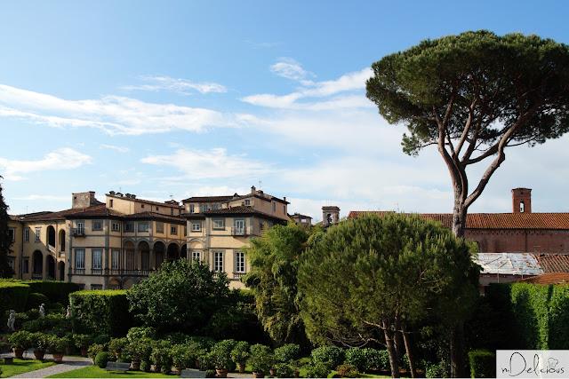 pałac pfanner, włoskie pałace, toskania, lucca