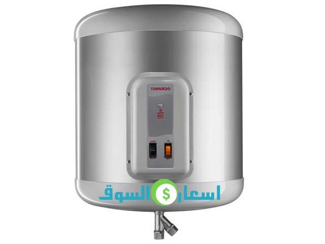 سعر سخان  كهرباء تورنيدو سعة 35 لتر موديل EHA-35 TSM-F