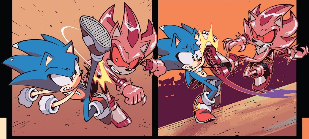Hedgehogs Can T Swim Sonic The Hedgehog Idw Issue 20