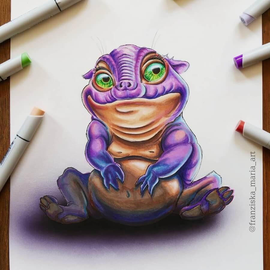 01-Purple-Creature-Franzi-www-designstack-co