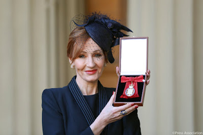 J.K. Rowling Honoured With Royal Companion Of Honor Award
