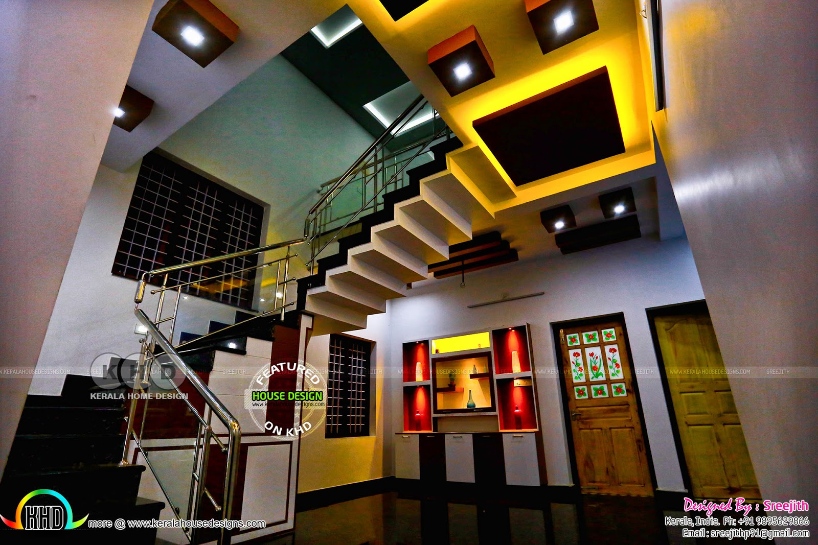 Work finished kerala home interior kerala home design and floor plans for How to design my home interior