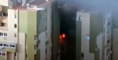 Heridos por el incendio de una vivenda del barrio de Jinámar, Telde