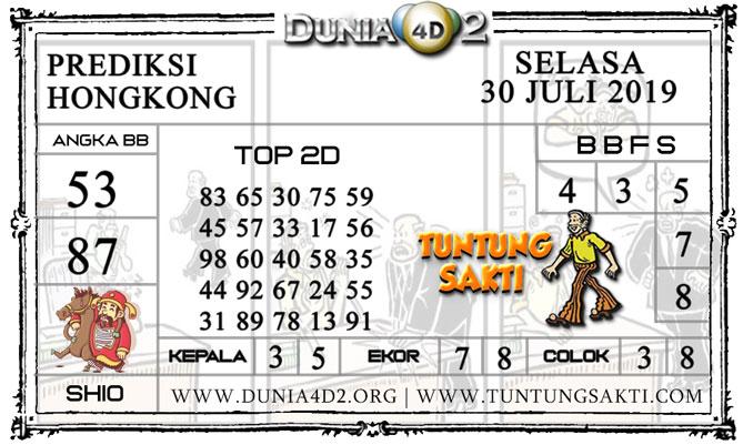 """Prediksi Togel """"HONGKONG"""" DUNIA4D2 30 JULI 2019"""