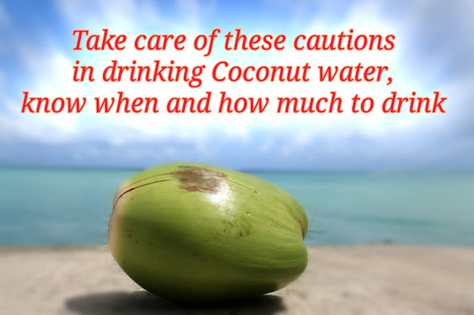 Coconut Water | Take care of these cautions in drinking coconut water
