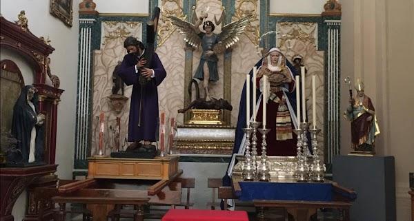 JESÚS DE LA PASIÓN Y LA VIRGEN DE LA ESTRELLA DE GRANADA ESTARÁN EN EL SALVADOR TODO EL VERANO