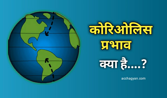 कोरिओलिस प्रभाव क्या है, What is Coriolis Effect, coriolis effect, feral ka niyam, rule of feral,