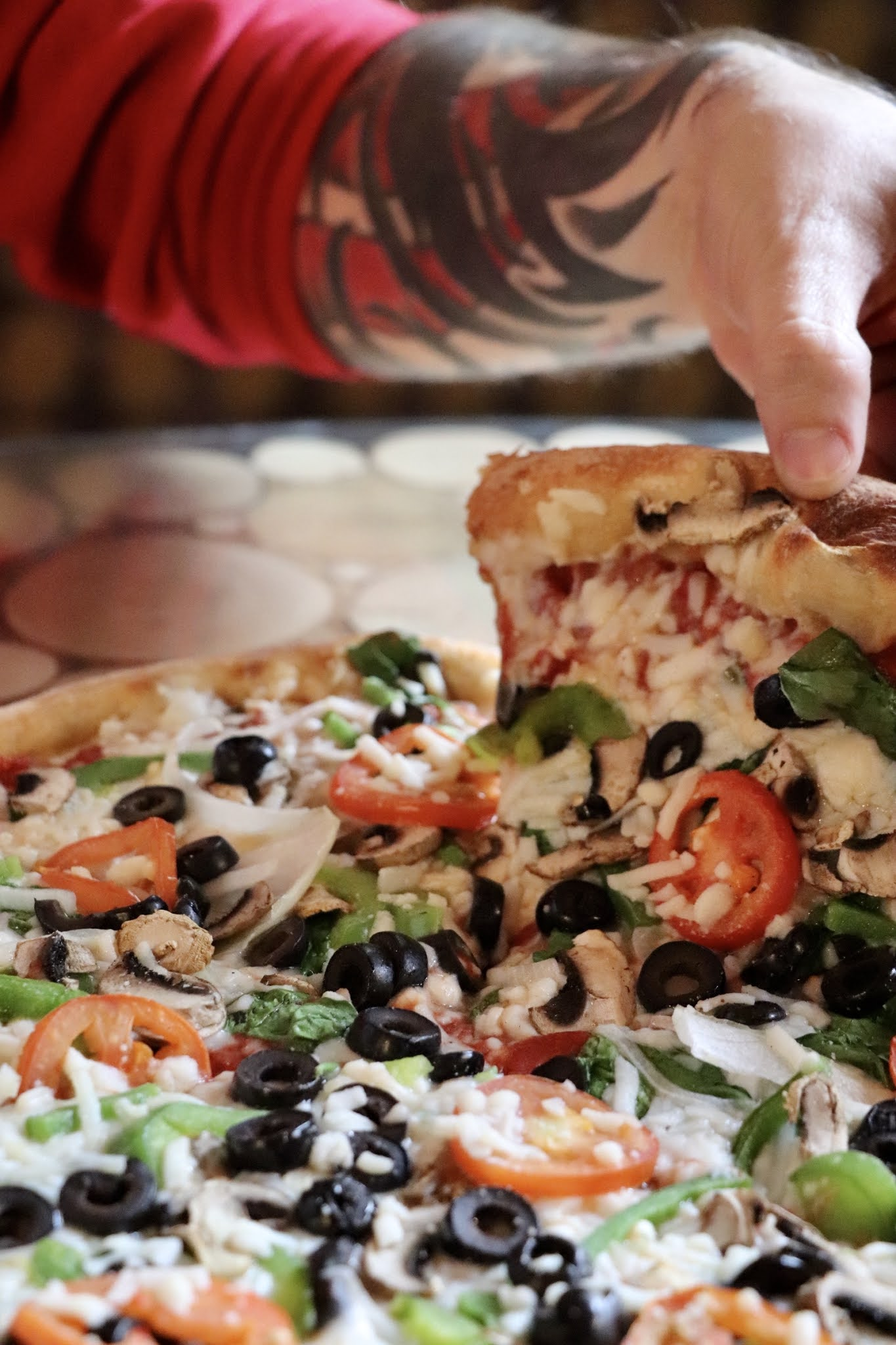 Vegan Veg Out Pizza