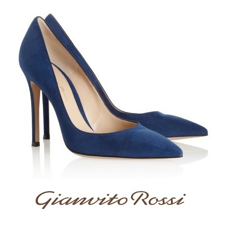 Princess Mary - GIANVITO ROSSI Suede Pumps