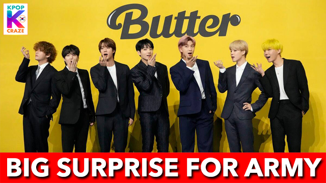 Big Surprise For ARMY After Butter MV Release