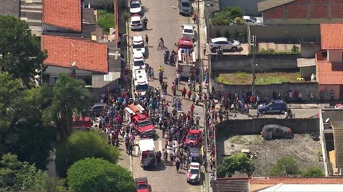 ATENTADO EM SP: Adolescentes atiram dentro de escola e matam 10 pessoas em Suzano, diz polícia.