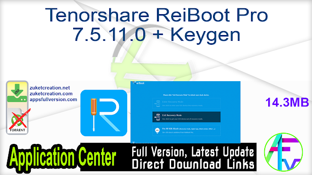 Reiboot Pro App Download