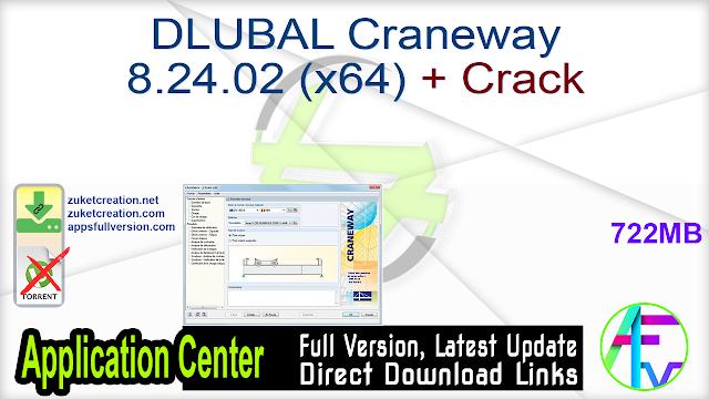 DLUBAL Craneway 8.24.02 (x64) + Crack