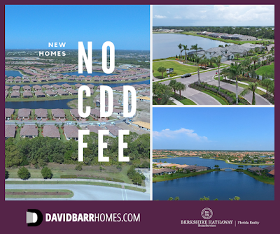 Venice FL New Homes with No CDD Fees