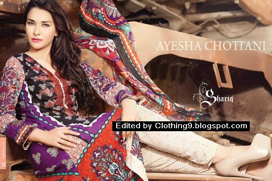Shariq Textiles Eid Dress Collection 2015