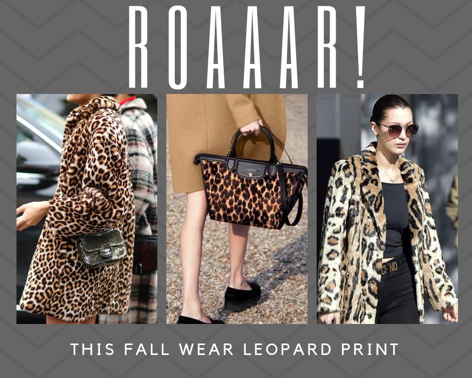 O padrão leopardo também já mora aqui!