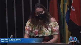 Vereadora Rosane Emídio PROS acusa Secretaria de Saúde  de Guarabira de ser negligente com pacientes com câncer, diabetes e microcefalia
