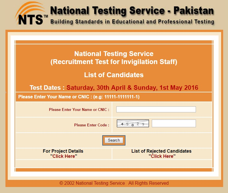 Nts Roll Number Slip Download 2016 - outdooreng