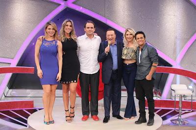 Sheila, Ciça, Carioca, Raul, Antônia e Thammy no Elas Querem Saber (Foto: Rodrigo Belentani/SBT)