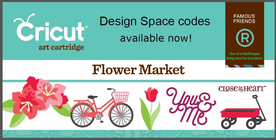 The Non-Crafty Crafter: CRICUT CTMH Flower Market