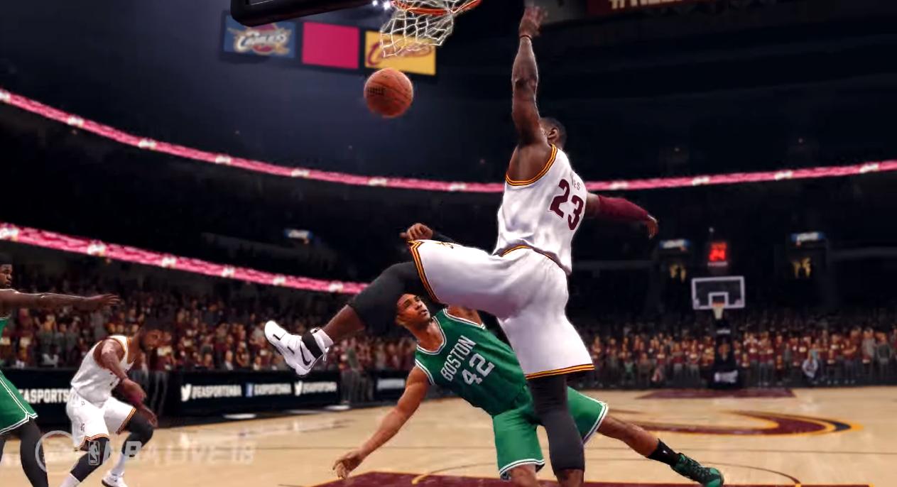 Se filtra espectacular gameplay de NBA Live 18