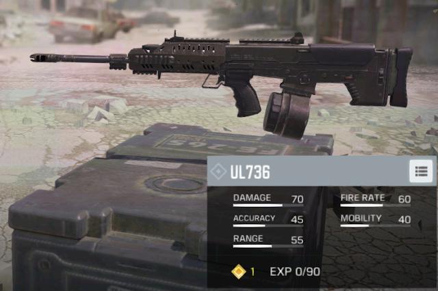 Daftar Senjata LMG Terbaik Call Of Duty Mobile Garena