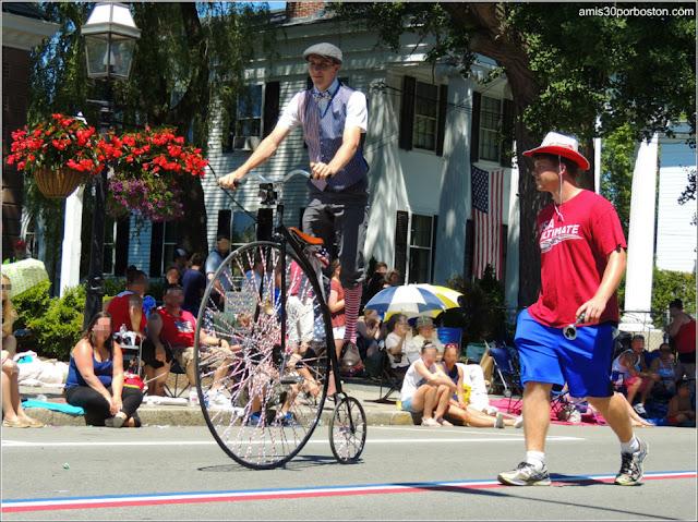 Velocípedo Desfile del 4 de Julio de Bristol