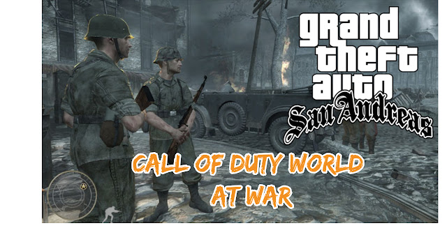 GTA Sanandreas Call of Duty World at War Mod Free Download in Pc