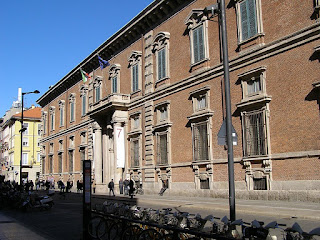The Palazzo di Brera in Milan, where Migliara was a student and later a professor