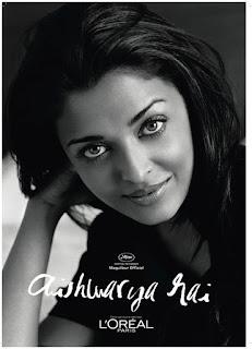 Aishwarya Rai Black And White Picture