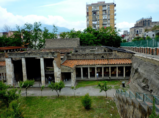 The Villa Oplontis at Torre Annunziata