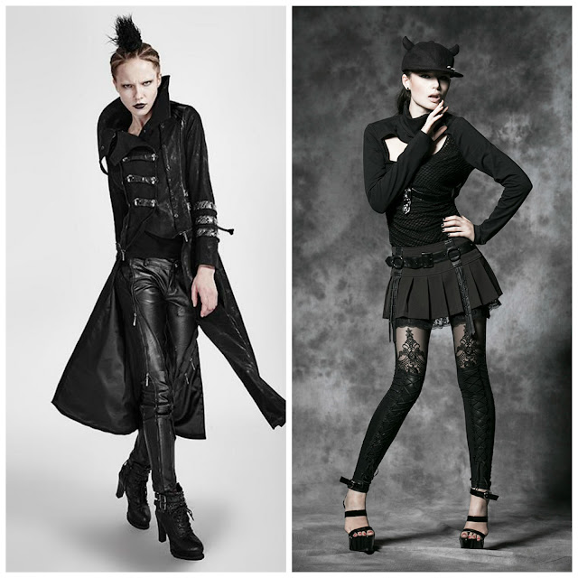 goth, lolita, visual kei, punk, Punkrave, alternative fashion, leggings lace leather coat nugoth japanese fashion