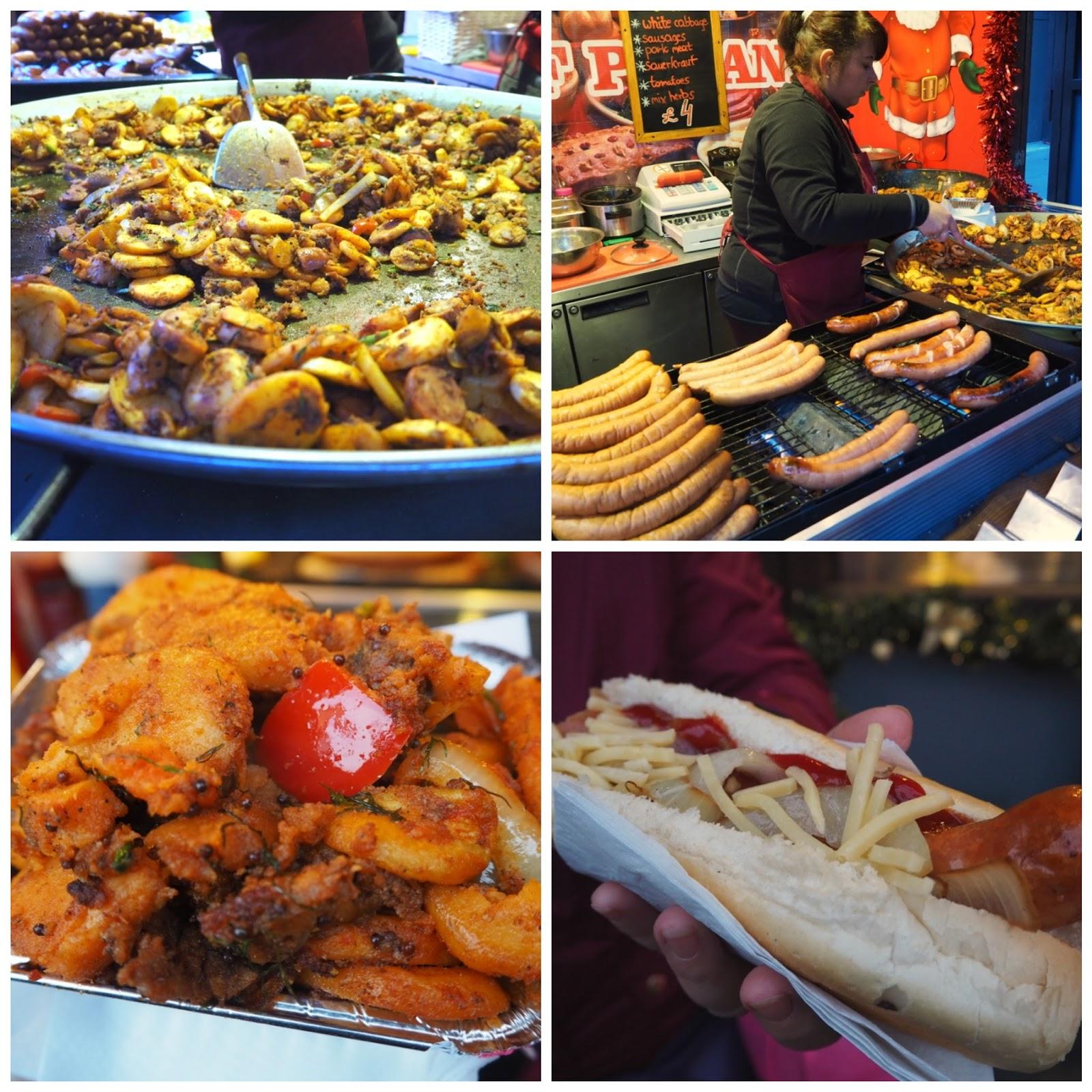 christmas food market liverpool