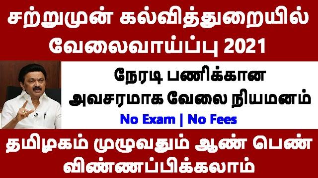 சற்றுமுன் கல்வித்துறையில் வேலைவாய்ப்பு 2021 | Anna University Recruitment 2021