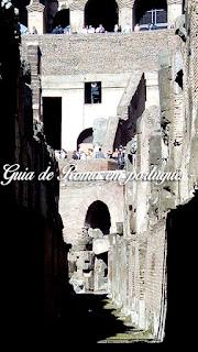 Coliseu guia brasileira Roma