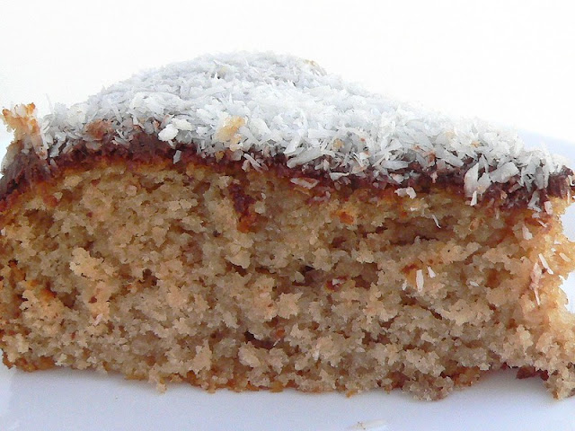 Coconut and Nutella Cake with Thermomix