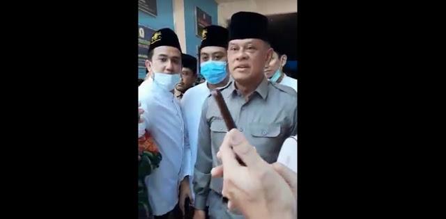 Sempat Temui Tokoh Surabaya, Gatot Akhirnya Tinggalkan Lokasi Pertemuan KAMI Setelah Didemo