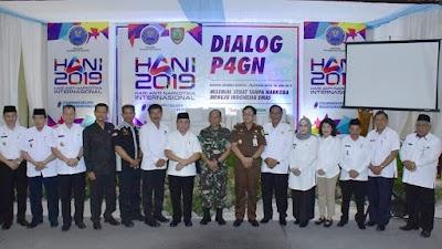 Peringati HANI, Gubernur Sugianto Imbau Tokoh di Kalteng Jaga Generasi Muda