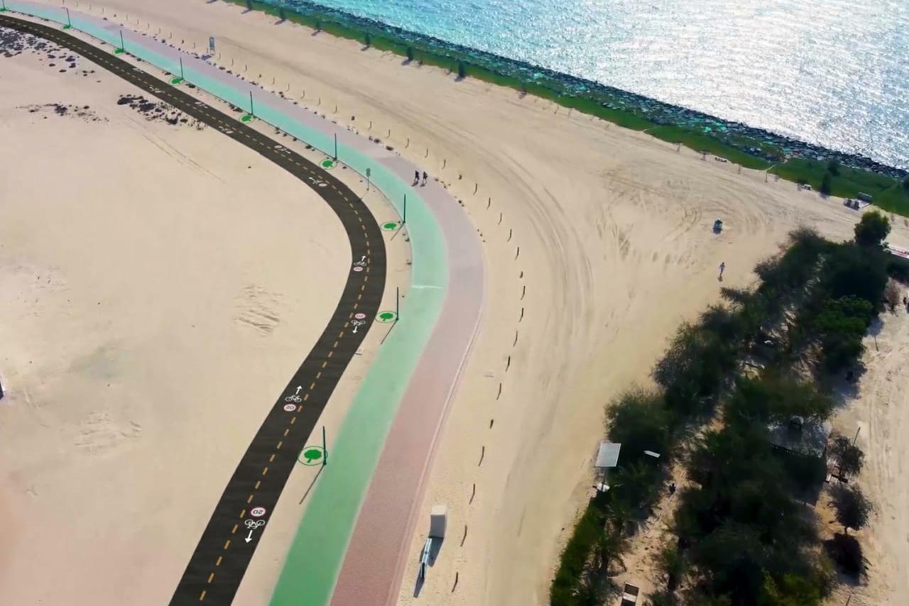 Sheikh Hamdan orders construction of a cycling track