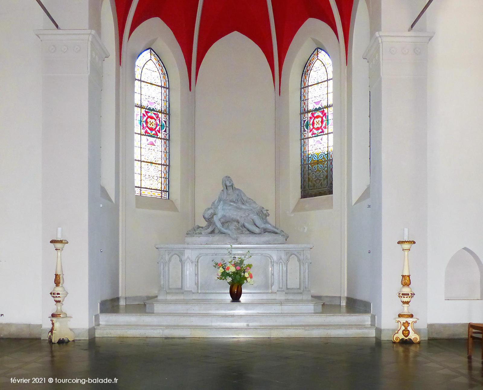 Abside de l'église Notre-Dame de Consolation, Tourcoing