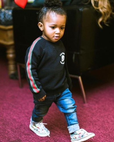 """Watch Wizkid's Son; Zion, Dancing To Naira Marley's """"Soapy"""""""