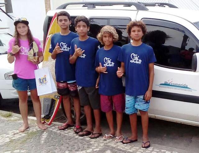 Surf da Ilha Comprida se destaca no Campeonato A Tribuna