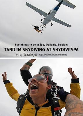 Skydiving in Belgium SkydiveSpa Pinterest