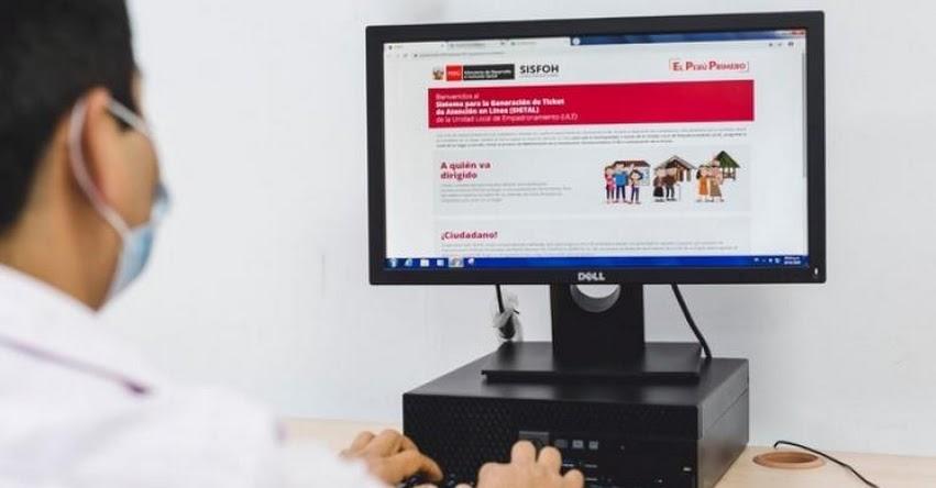MIDIS se digitaliza y lanza ticket virtual para actualizar la clasificación socioeconómica de hogares vulnerables - www.midis.gob.pe