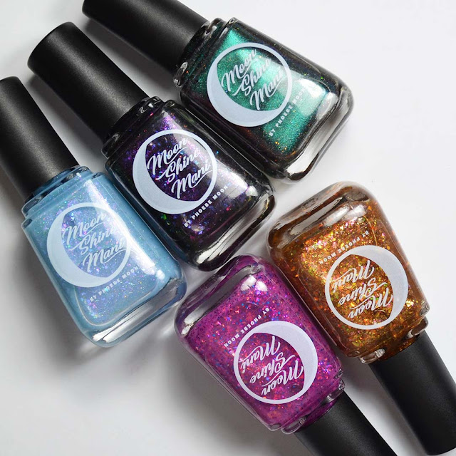 new nail polish colors in bottles